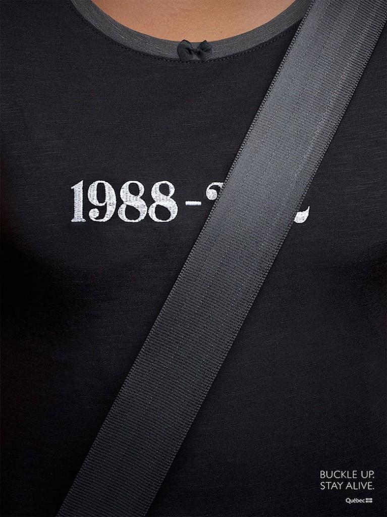 PAP SAAQ affiches zoom ceinture de sécurité Concours EN