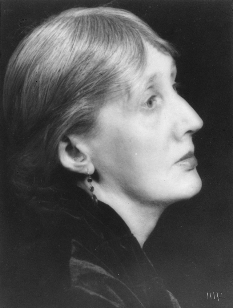 Virginia Woolf photographed by Man Ray in 1934