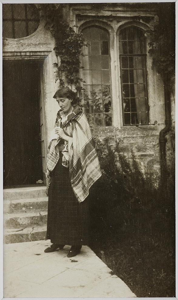 Virginia Woolf at Garsington Manor in 1917. ""