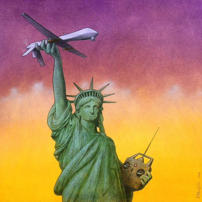 Art Sheep Features Pawel Kuczynski Comments On Society