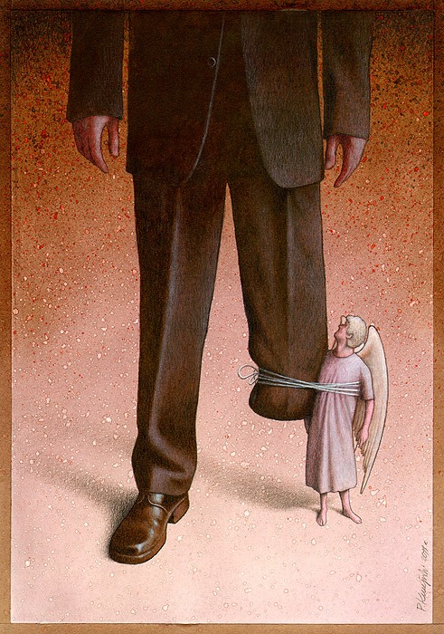 Art Sheep Features Pawel Kuczynski Comments On Society Through