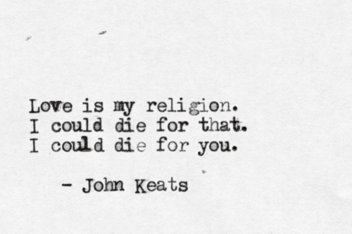 20 of John Keats' Most Famous Quotes - Art-Sheep