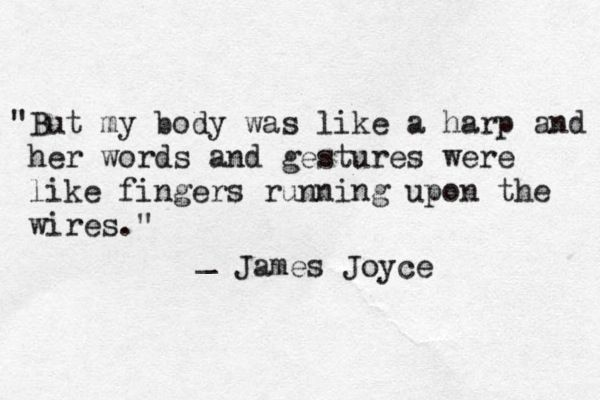 20 Of James Joyce S Most Beautiful Quotes Art Sheep