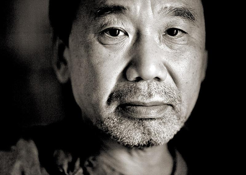 haruki-murakami-portrait