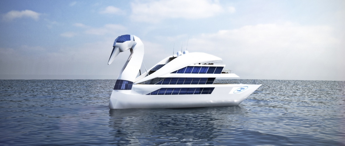 Futuristic Modern Yachts Influenced by Art and Pop Culture