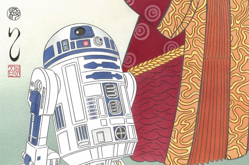 star-wars-japanese-woodblock-print-ukiyo-e-designboom-21