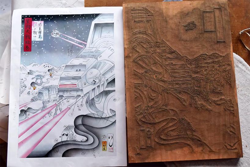 star-wars-japanese-woodblock-print-ukiyo-e-designboom-24