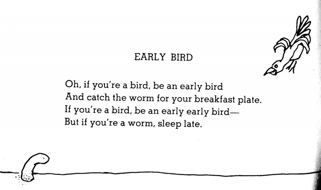 Shel Silverstein Cartoons: 20 Of Our Favorite Shel Silverstein Poems