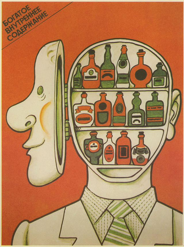 Soviet Anti-Alcohol Poster (11)