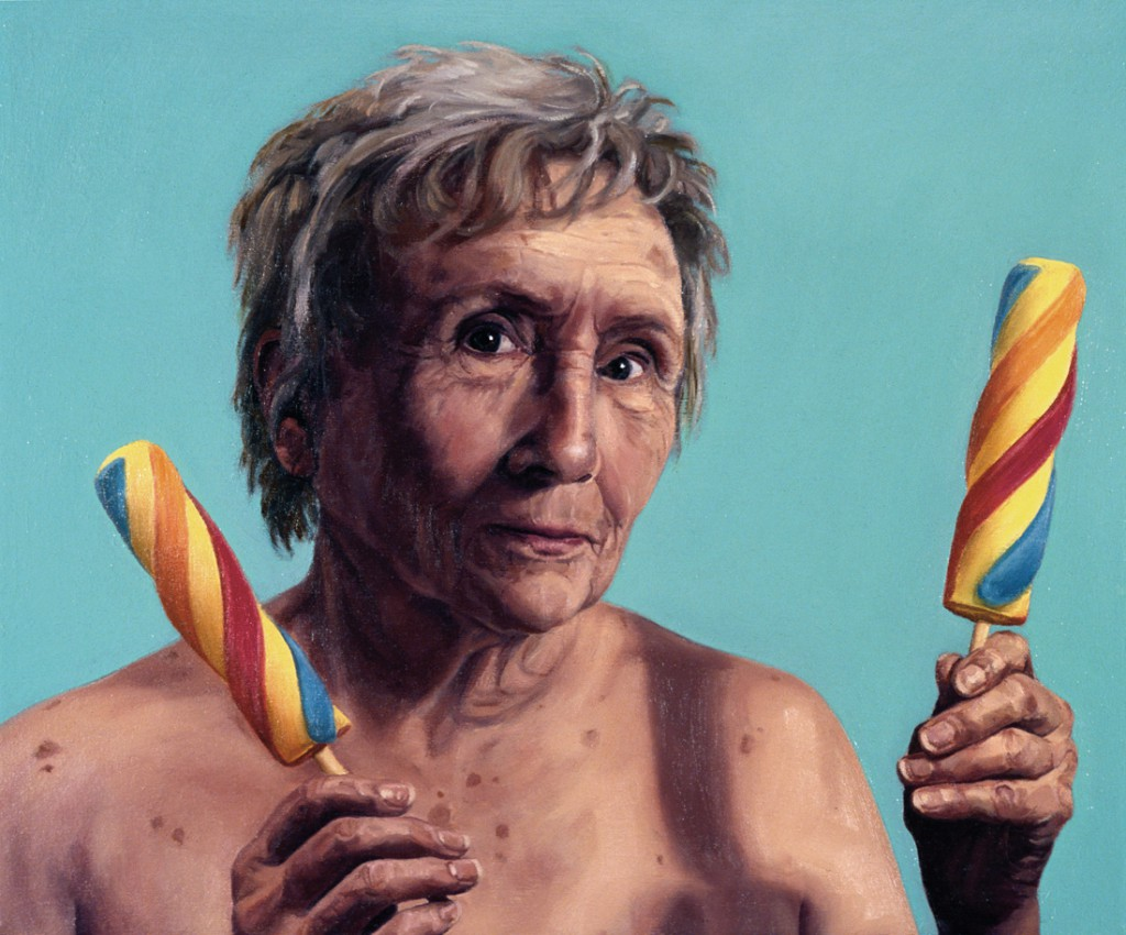 Selfish-Grandma-oil-on-canvas-15-x-18-inches-2001