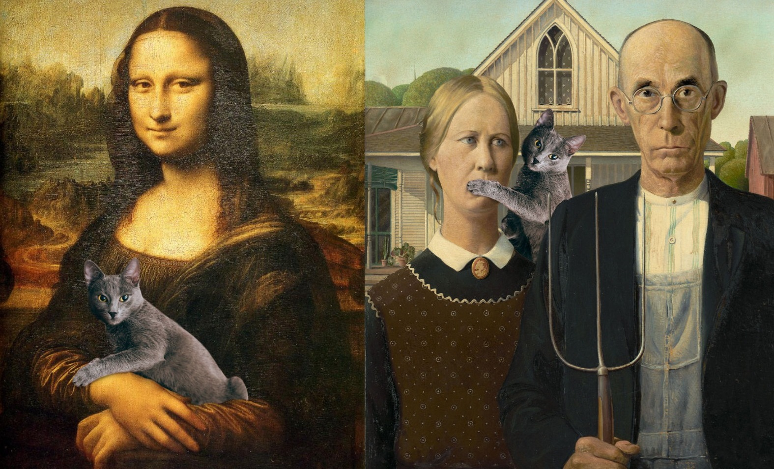 Eduard Cistea Photoshops His Cat Into Classical Paintings And The