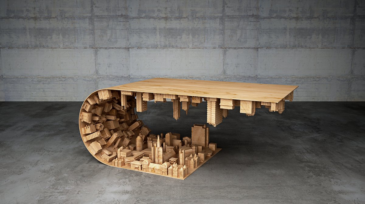 This 'Inception'-Inspired Coffee Table Will Turn Your Living