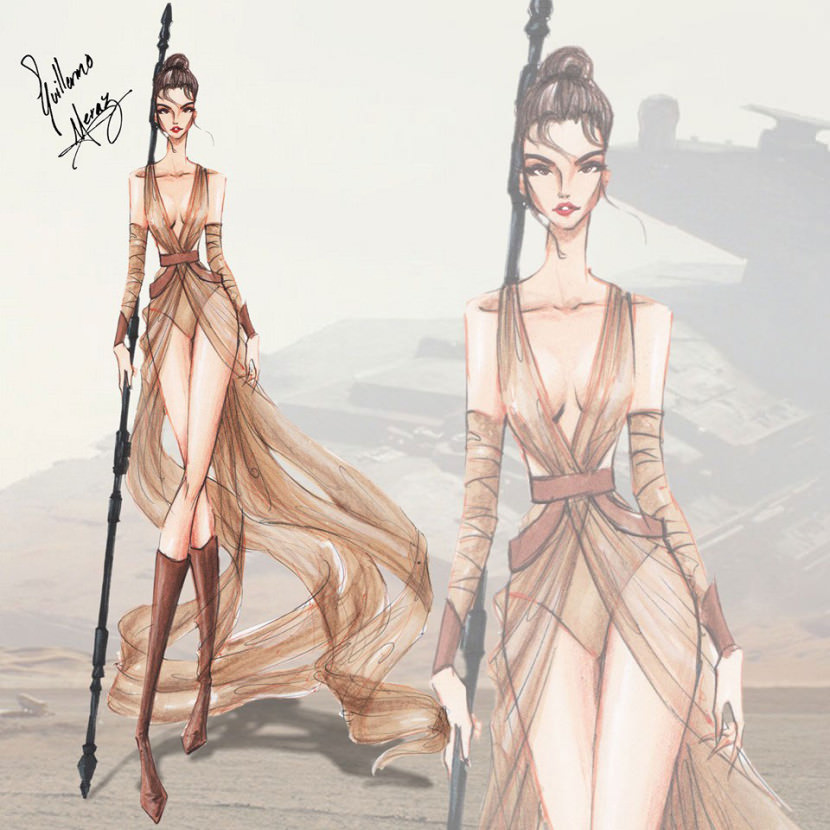 What-Star-Wars-characters-would-look-like-as-high-fashion-dresses7-830x830