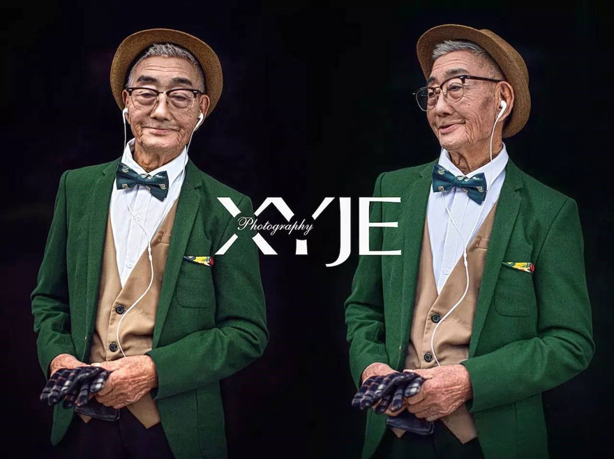 grandson-transforms-grandfather-fashion-trip-xiaoyejiexi-photography-8