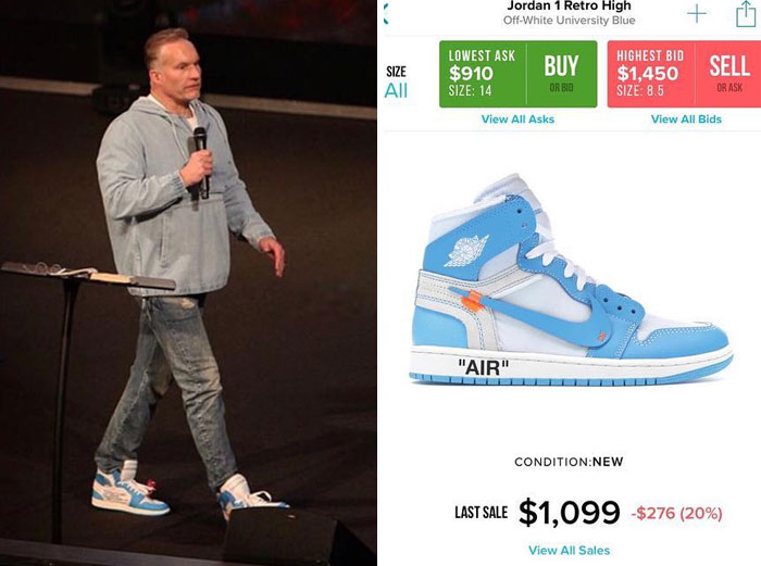 Preachers and Expensive Sneakers - Art